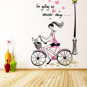 Vinilos Decorativos Adhesivos Frases Better Days