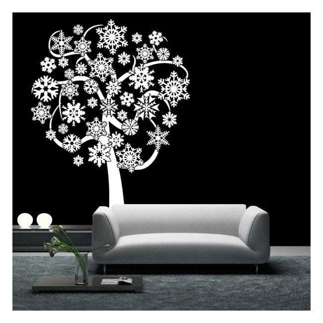 Árbol Copos de Nieve