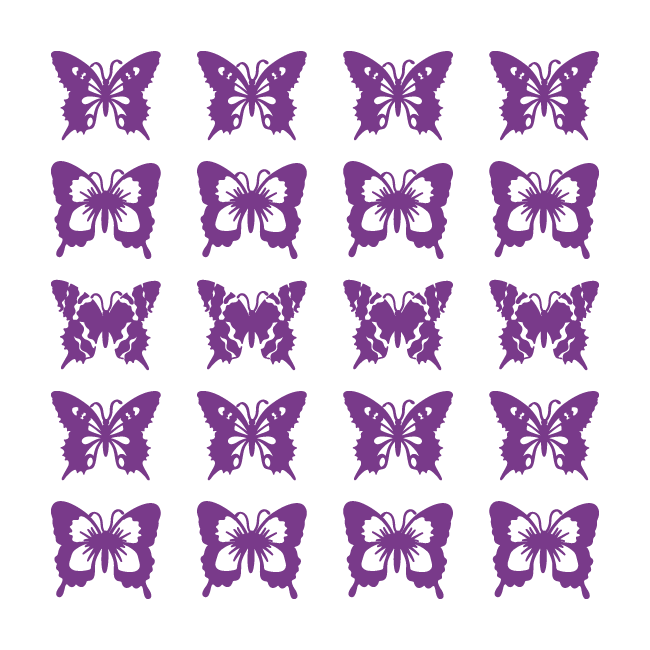 Vinilo decorativo mariposas for Vinilos mariposas