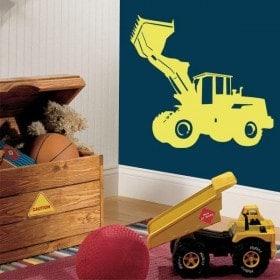Decorative vinyl excavator