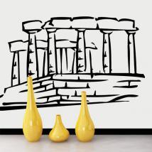 Vinilo Decorativo Partenón