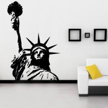 Vinilo Decorativo Estatua de la Libertad I