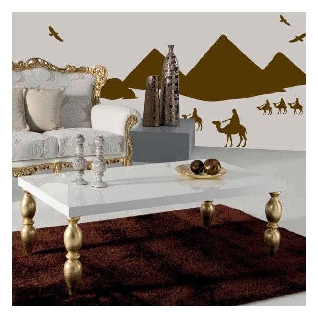 Vinilo Decorativo Pirámides de Egipto