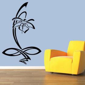 Vinilo Decorativo Flor Orquídea