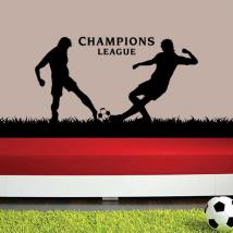 Vinilo Decorativo Champions League