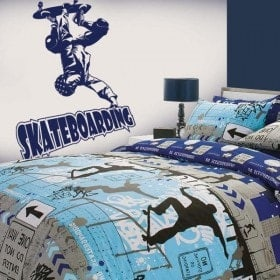 Vinilo Decorativo Skateboarding