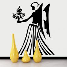 Vinilo Decorativo Horóscopo - Virgo