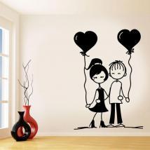 Vinilo Decorativo Enamorados