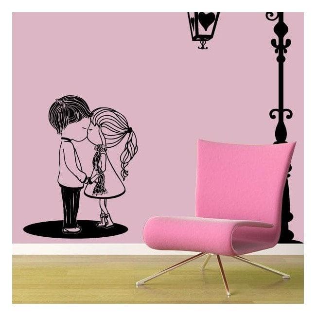 Vinilo Decorativo Momento Romántico