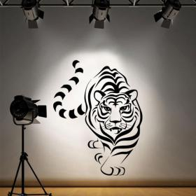 Vinilo Decorativo El Tigre