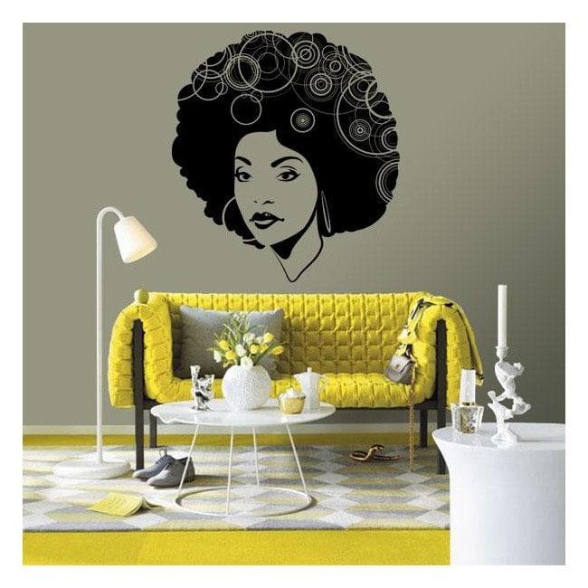 Vinilo Decorativo Mujer Soul