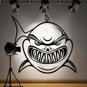Vinilo Decorativo Tiburón