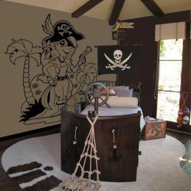 Decorar Paredes Pirata Infantil