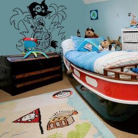 Decorar Paredes El Tesoro del Pirata