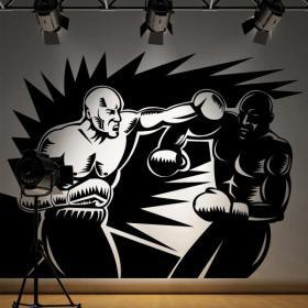 Decoración Paredes Boxeadores