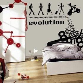 Vinilo Decorativo Evolution