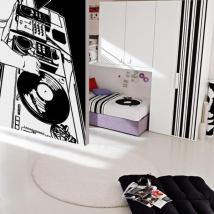 Vinilo Decorativo Estudio DJ