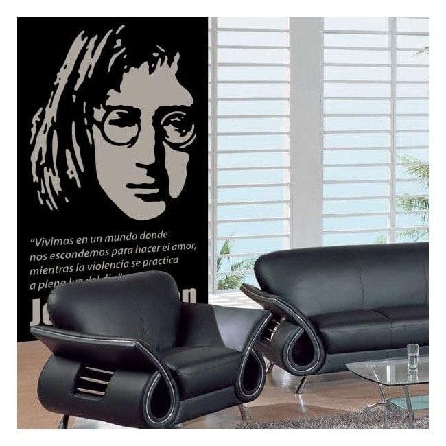 Vinilo Decorativo John Lennon