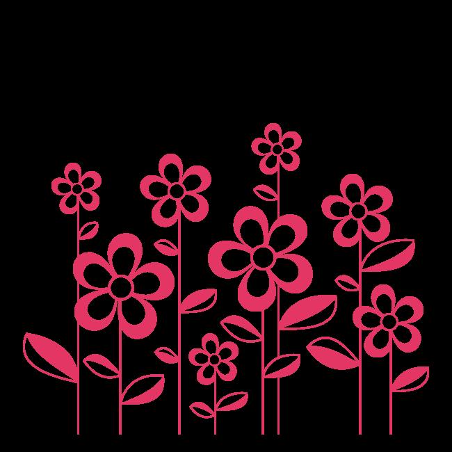 Decoraci n paredes flores de primavera - Flores para decorar paredes ...