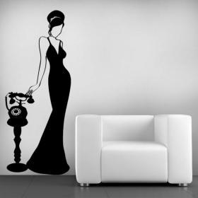 Decoración Paredes Mujer Vintage I