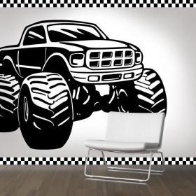 Decoration Paredes Monster Truck