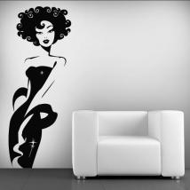 Vinilo Decorativo Mujer Deluxe