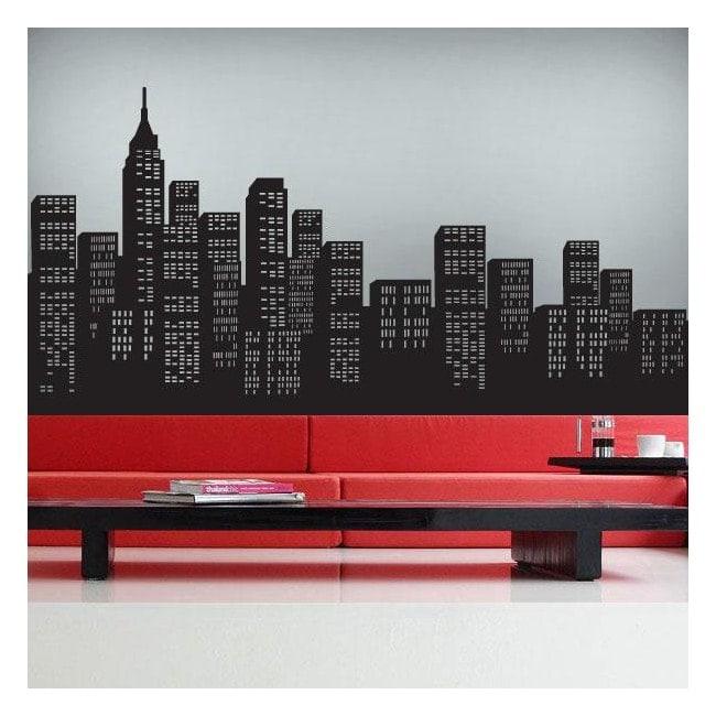 Vinilo Decorativo Rascacielos