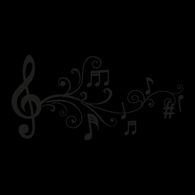 Notas Musicales Pixels Fondos Etiquetado Arte Images