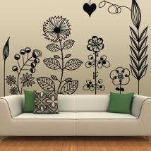 Vinilos Decorativos Arte Floral