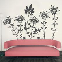 Vinilos Decorativos Flores de Diseño