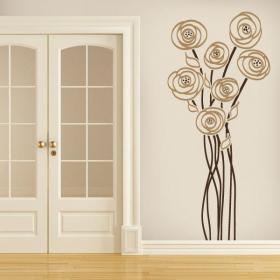 Vinilos Decorativos Flores de Encanto