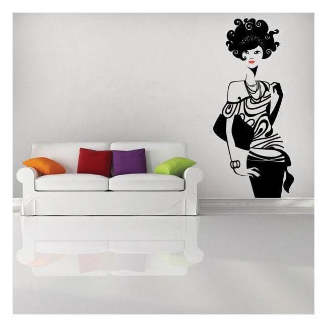 Adhesivos paredes de moda for Adhesivos de pared