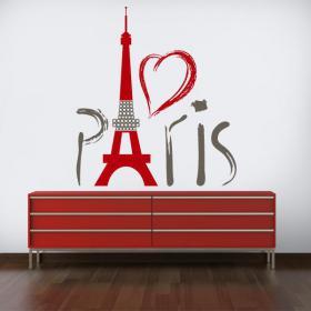 Vinilos Decorativos Torre Eiffel París