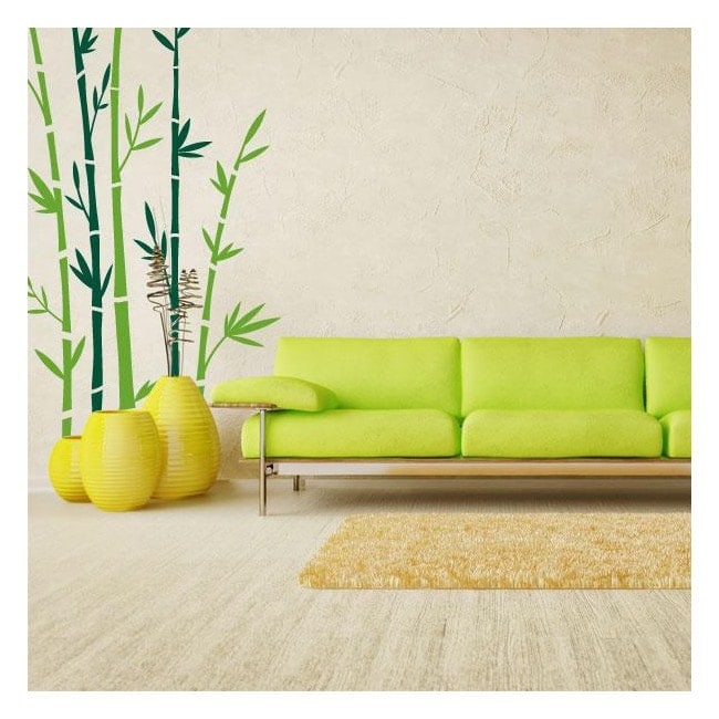 Vinilos Decorativos Paredes Bambú