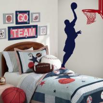 Vinilos Decorativos Paredes Basketball
