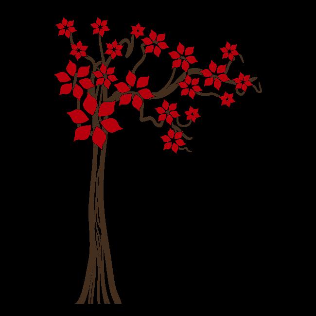 Vinilos decorativos rbol primavera floral - Vinilos decorativos bilbao ...