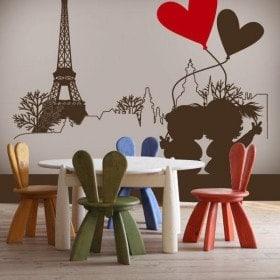 Vinilos Decorativos París Romántico