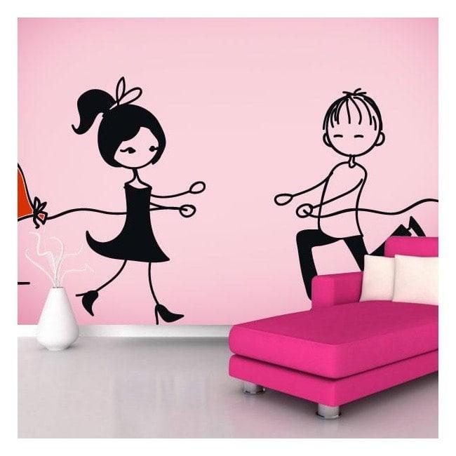 Vinilos decorativos amor a primera vista - Vinilos de amor ...