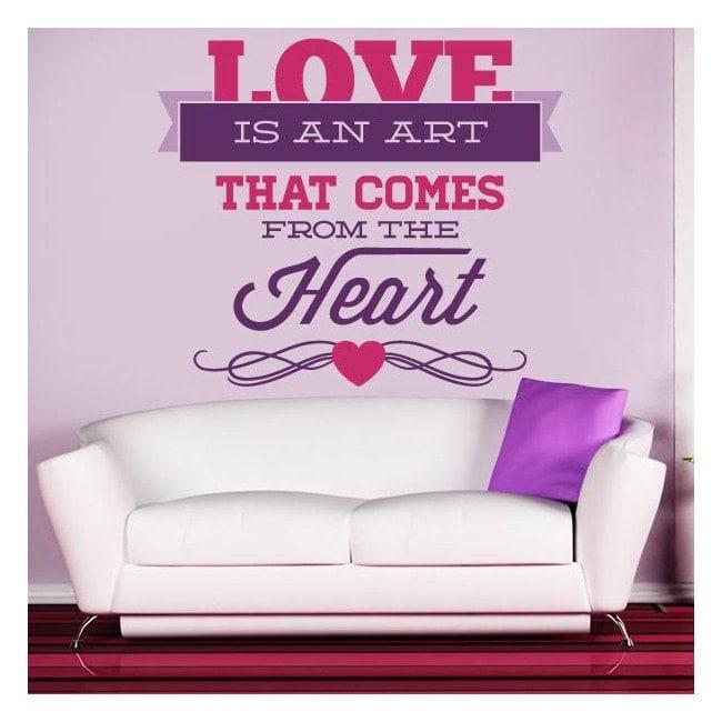 Vinilos Decorativos Románticos Love
