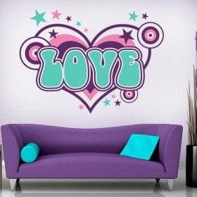 Vinilos Decorativos Love
