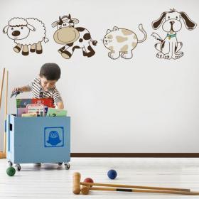 Vinilos Infantiles Kit de Animales