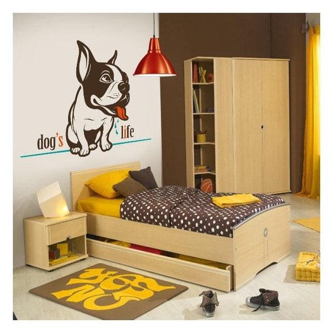 Vinilos Decorativos Dog's Life