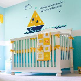 Vinilo Decorativo Barco Infantil