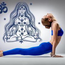 Vinilos Decorativos Relajación Meditación Yoga