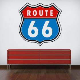 Vinilo Pegatina Ruta 66