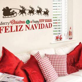 Vinilos Navidad Happy New Year