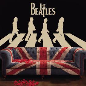 Vinilos y Pegatinas The Beatles Abbey Road