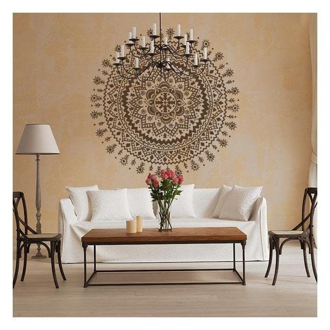 Vinilos decorativos roset n hind - Cristales decorativos para paredes ...