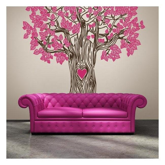 vinilos decorativos rbol del amor