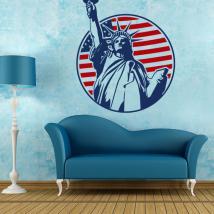 Vinilos Decorativos Estatua de la Libertad Nueva York